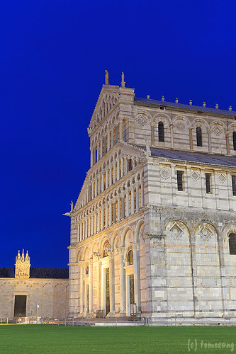 Campo dei Miracoli at Night