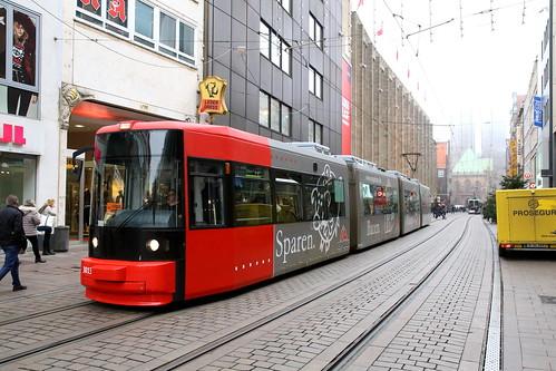 tram strassenbahn bsag
