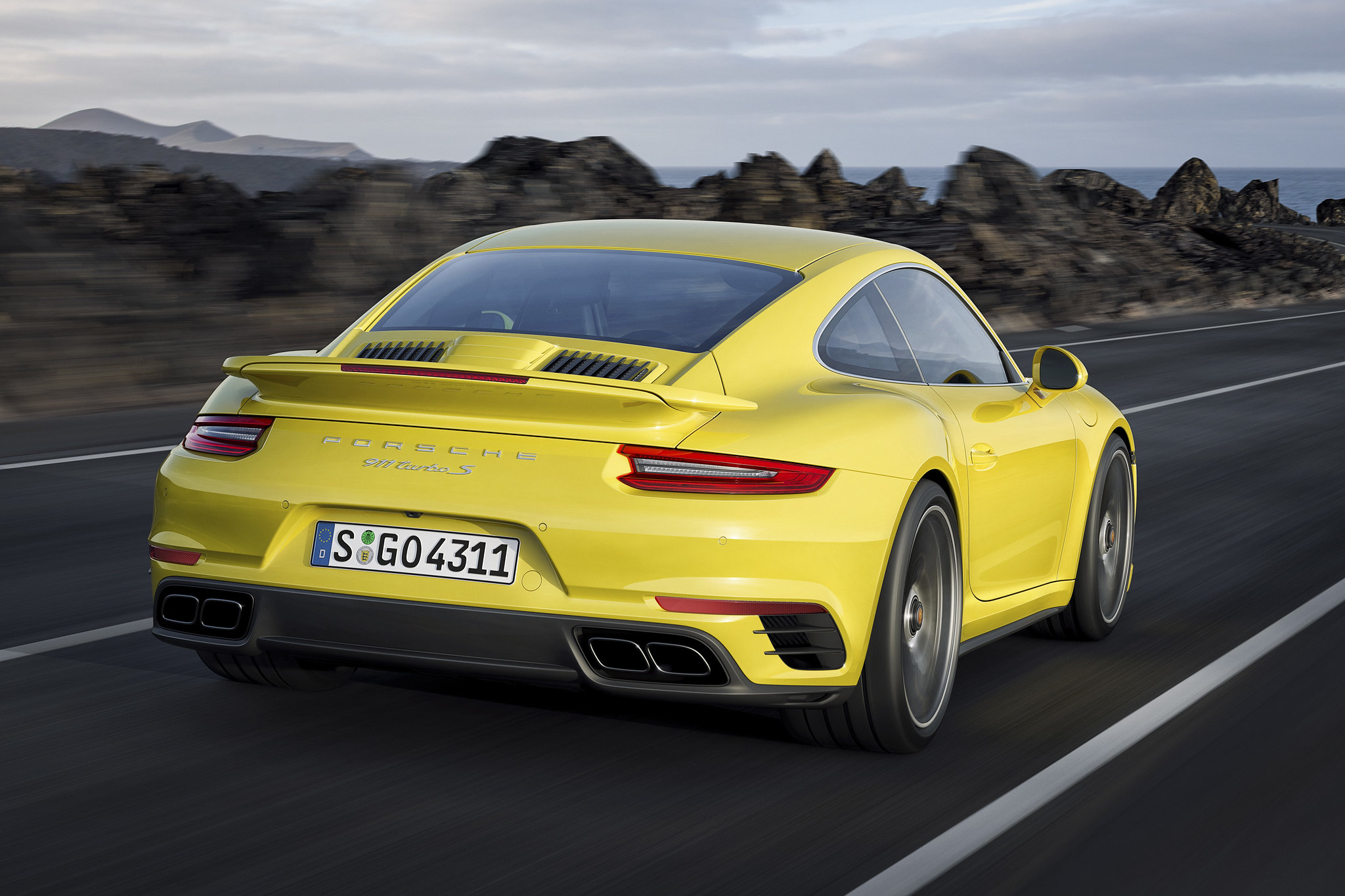 The new 2017 Porsche 911 Turbo and 911 Turbo S