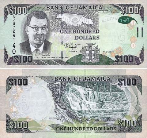100 Dolárov Jamajka 2014, hybrid