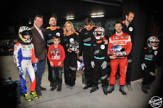 Влад Топалов и T-killah бросили вызов пилотам Formula 1