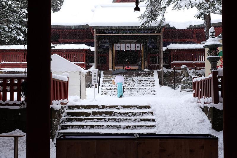 岩木山神社 境内 2015-12-31