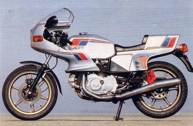 Мотоцикл Ducati 500