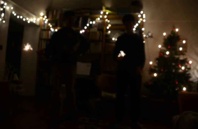 last minute Christmas frittata