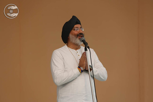 Devotee from America, Narinder Pal Noor from Tracy