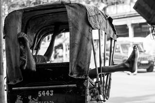 The Rickshawpuller