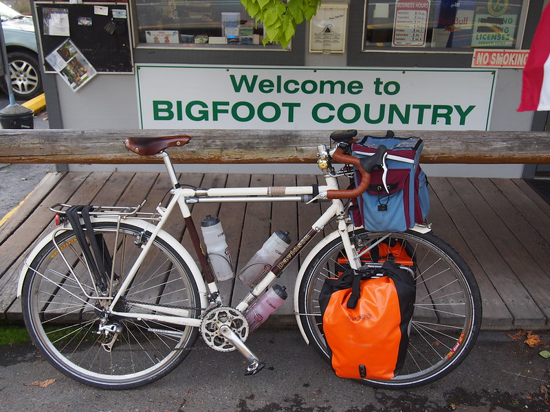 Entering Bigfoot Country