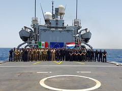 Op Atalanta Force Commander was pleased to visit ITS Euro