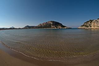 صورة Voidokoilia Beach (Παραλία Βοϊδοκοιλιά) Voidokilia. greece peloponnese samyang75mmf35umcfisheyemft voidokilia darktable beach