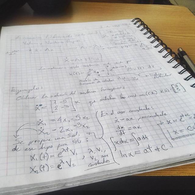 Así si me gustan las ecuaciones diferenciales xD