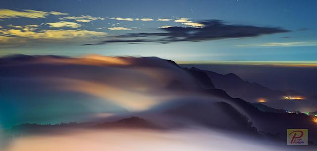 雲桌 @ 頂石槕 _ Wave of clouds @ ChiaYi County