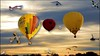 Balloons at sunset - Hilary Thompson