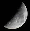 Waxing Crescent, 43% of the Daylight Moon is Illuminated IMG_3406 by Ted_Roger_Karson