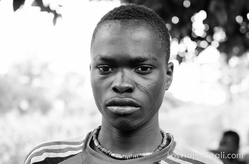 tribus de Benin País Taneka