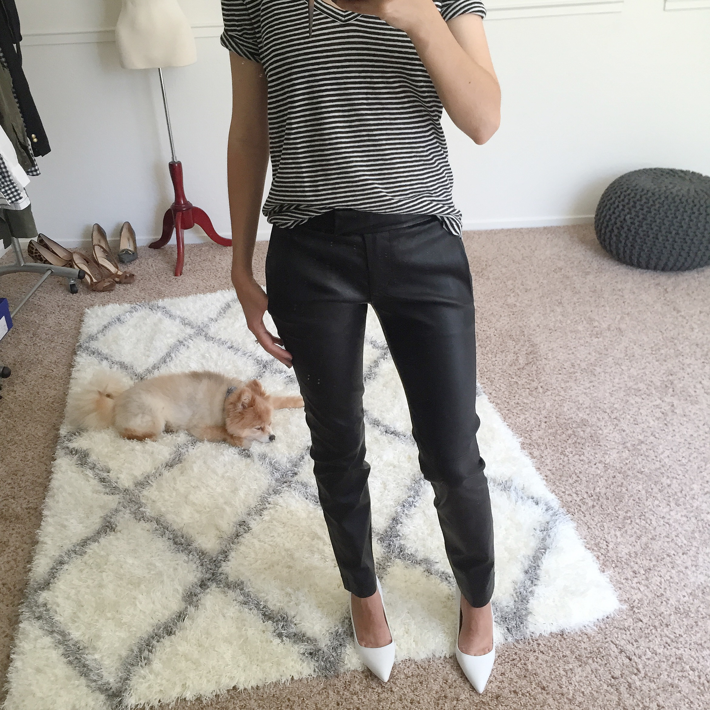 J.Crew Petite Leather Ryder Pant Fit Review