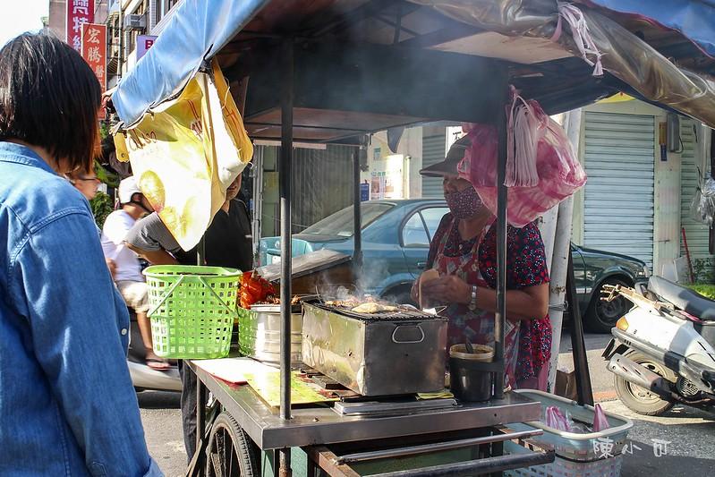 台北小吃︱台北熱炒,張媽媽炭烤甜不辣,張媽媽炭烤甜不辣地點,雞脖子 @陳小可的吃喝玩樂