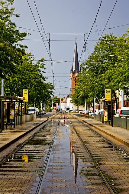after rain comes sun //dresden neustadt