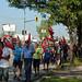 Manifestation d'ex-employés de MABE