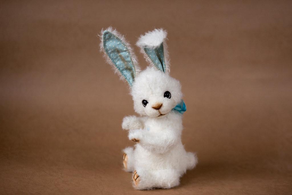 softly bear paw collectible artist teddy bear bunny albert mohair