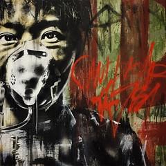 """Can't breathe the sky"" #Eddiecolla #kaaboodelmar #111minnagallery #atavisms #salvageportraits"