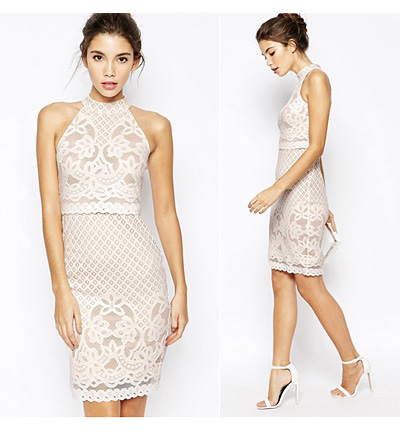 White Lace Dress From ASOS