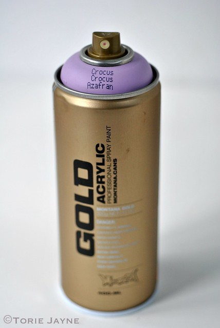 Crocus Montana Gold Spray Paint