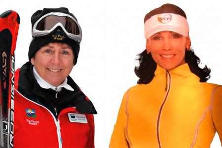Lyžařští jubilanti 2. - Maria Walliser a Nancy Greene Raine