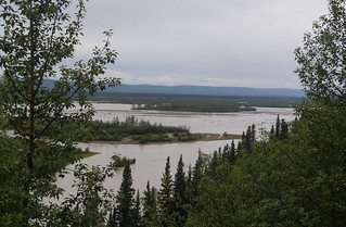 070 Tussenstop tussen Lake Birch en Tanana river