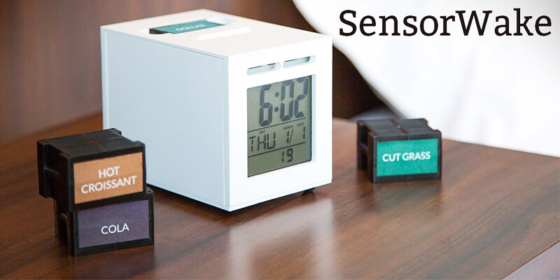 SensorWake will Wake you up with a Smell-Based Alarm Clock