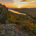 Lake of the Clouds Autumn Sunrise by Cole Chase Photography