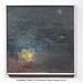 """Bonfire 9.10.15 a/p ~ 12 x 12"""" by M. Hoogasian"""