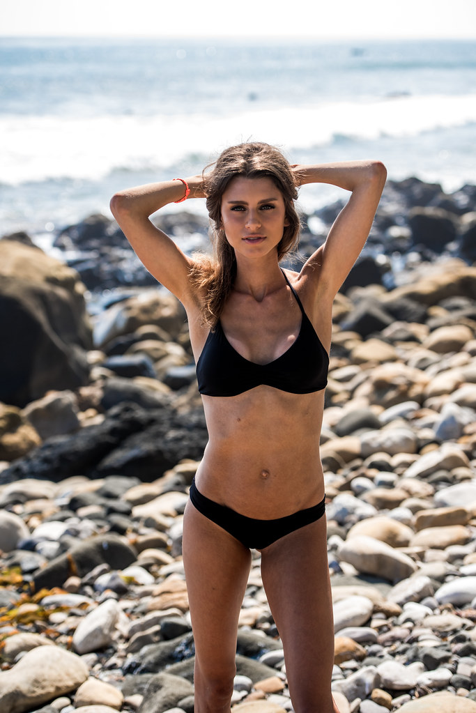 Excellent topic bikini brunette girl in apologise