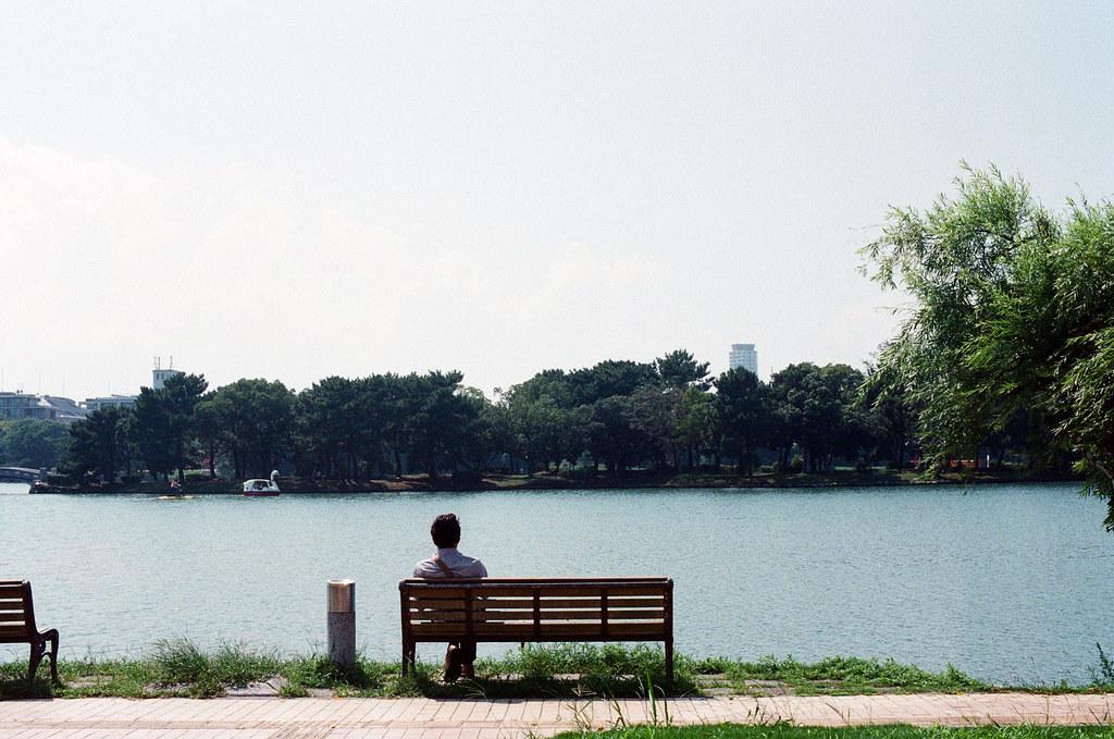 大濠公園 福岡 Fukuoka 2015/09/04 如果太陽沒有很大,在這裡作一下午其實很舒服。  Nikon FM2 / 50mm Kodak UltraMax ISO400 Photo by Toomore