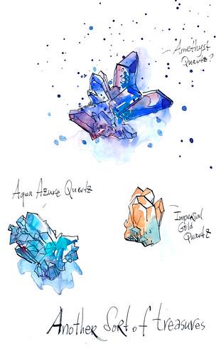 Sketchbook #92: Treasures
