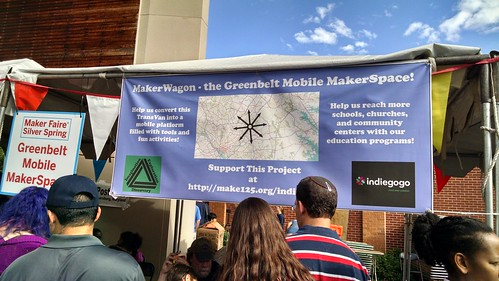 Silver Spring Maker Faire, September 20, 2015