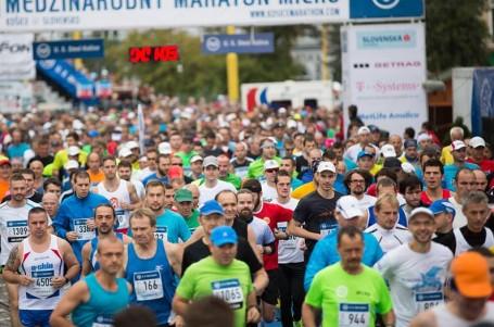 Košický maraton vyhrál Kosgei v druhém nejrychlejším čase historie závodu