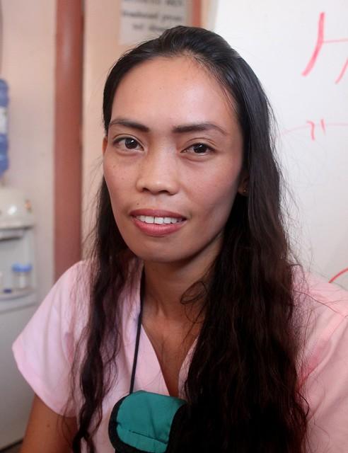 Jaro local nurse and MDRRMC staff Roberta 'Betty' B. Lego