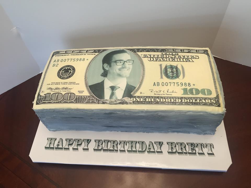 100 Dollar Bill Birthday Cake Lady Wpb Flickr
