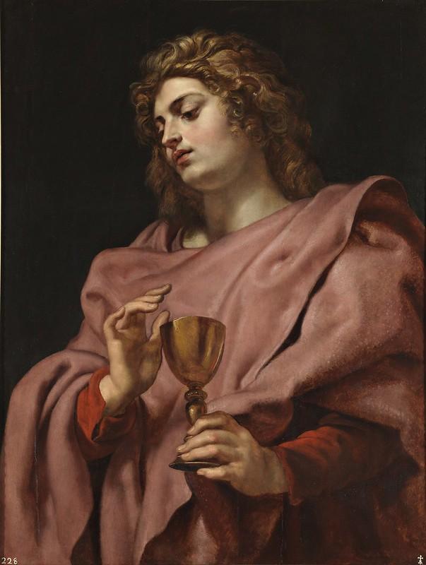 Pieter Paul Rubens, S. Giovanni evangelista, 1610-12