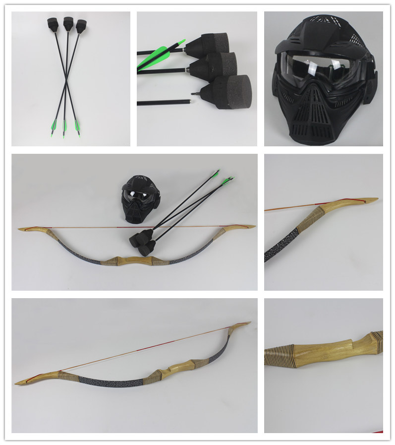 archerytag bow and arrows