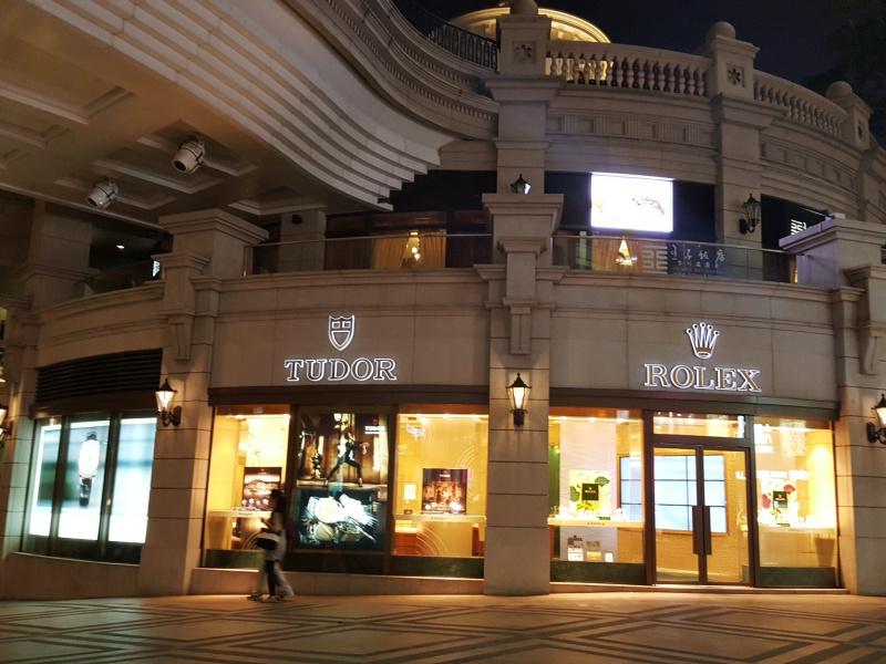 Rolex store Hong Kong
