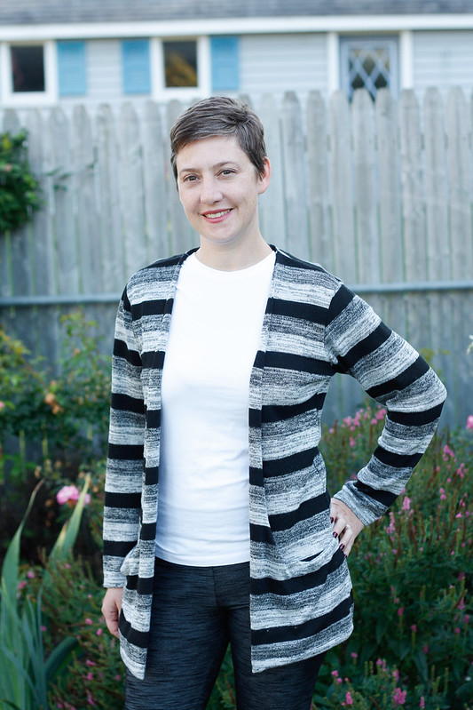 Drop Pocket Cardigan by mahlicadesigns