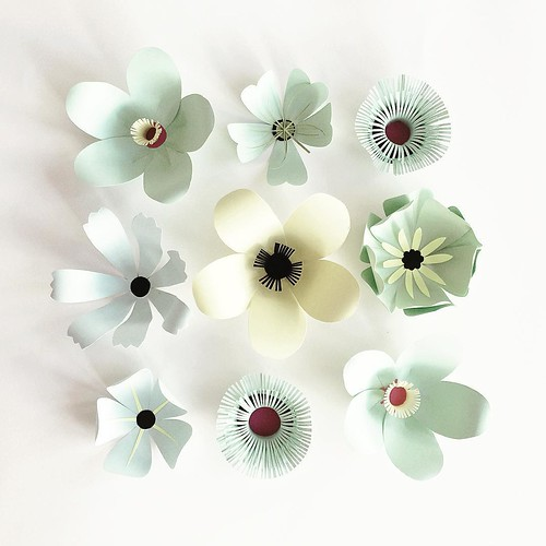Paper Sculpture Flowers