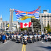 Vancouver PD Motorcycle Drill Team by West Coast Emergency Photography