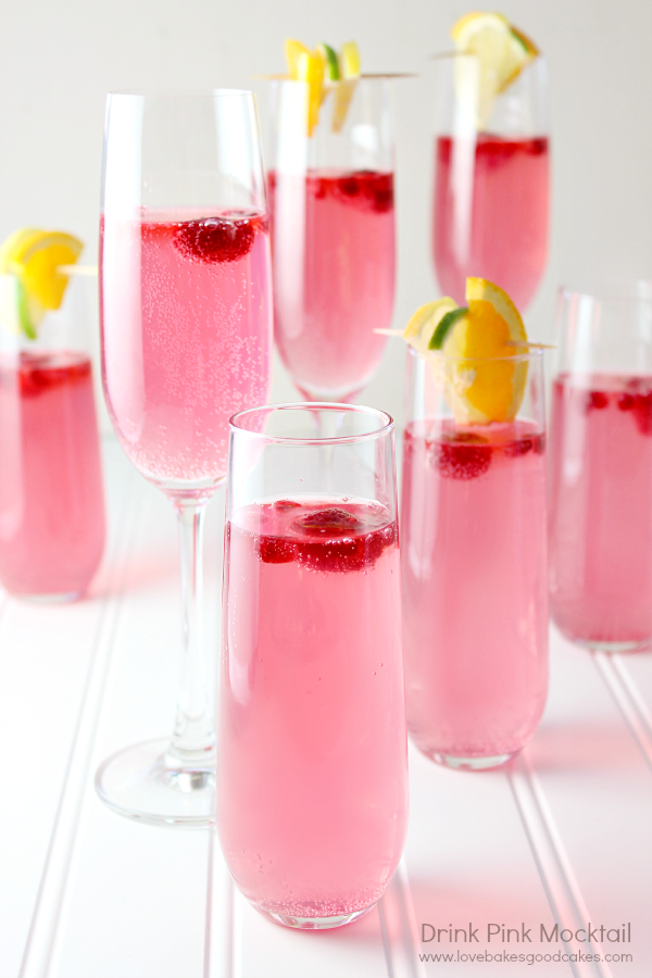 This Drink Pink Mocktail is perfectly pink and oh, so tasty! Remember to take the steps to detect breast cancer in its early stages and to encourage your loved ones to do the same.