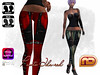 ❃❃[NetLife Design] Pants Ida + Appliers❃❃-red by netlifedesign