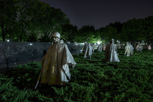 Korean War Memorial by Geoff Livingston