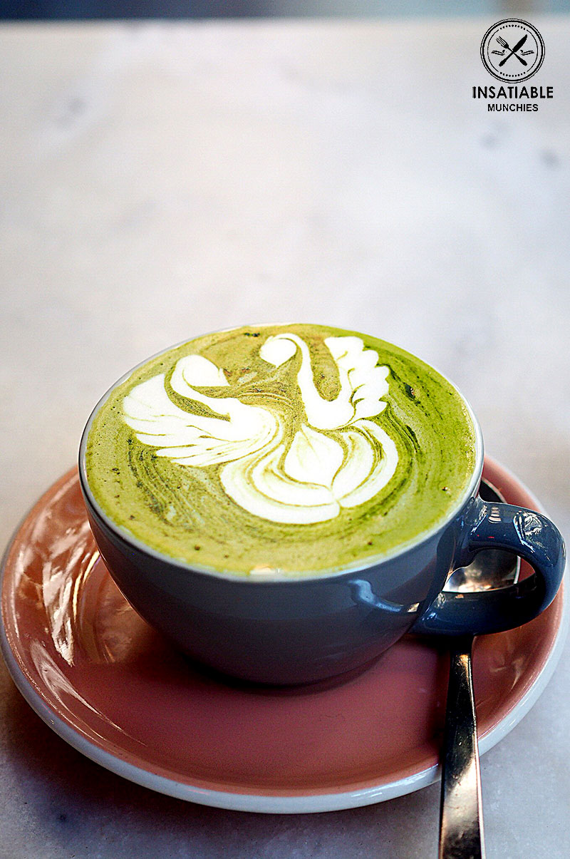 Sydney Food Blog Review of Hardware Society, Melbourne: Matcha Latte, $4.50