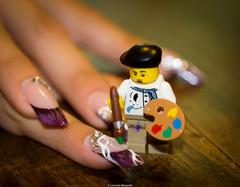 Lego Nail Art 50/365