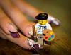 Lego Nail Art